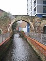 Arch over the brook - geograph.org.uk - 2220187.jpg