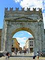 Arco di Augusto - Rimini - facciata NW.jpg