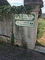 Argenton-sur-Creuse (36) - Panneau directionnel de la voie verte des Vallées.jpg