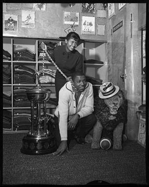 Willie Fleming - Arlene and Willie Fleming in 1960.