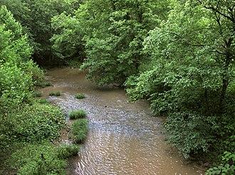 Arnold Creek (West Virginia) - Arnold Creek in Doddridge County