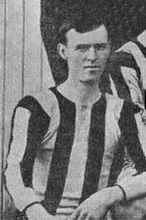 Arnold Warren - Warren while with Brentford in 1902