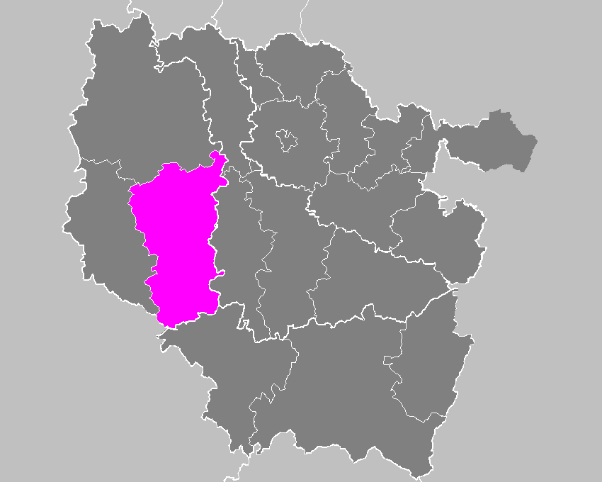 Location of Commercy in Lorraine