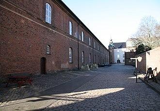 Christian IV's Arsenal - Image: Arsenal Museum Copenhagen courtyard