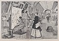 Art-Students and Copyists in the Louvre Gallery, Paris – Drawn by Winslow Homer (Harper's Weekly, Vol. XII) MET DP875298.jpg