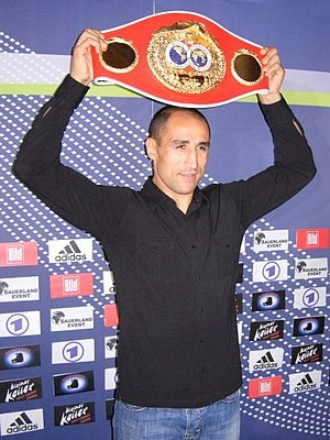 Arthur Abraham - Abraham with the IBF middleweight title, 2008