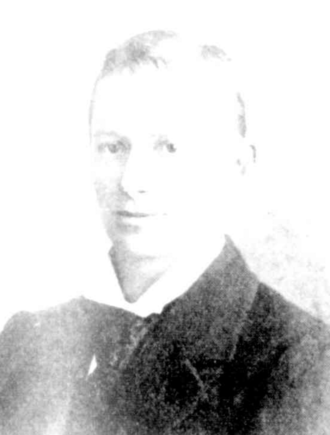 Arthur Cleghorn - Cleghorn in 1899
