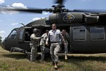 Ashton Carter exiting helicopter while visiting 101st Airborne exercise at Fort Campbell 120620-D-TT977-114.jpg