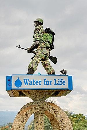 Moshi, Tanzania - Askari monument in Moshi