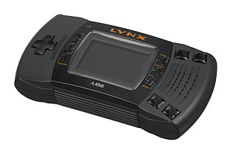 Atari Lynx - The Atari Lynx II, smaller and lighter than the original.