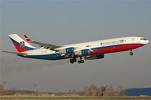 Atlant-Soyuz Airlines - Image: Atlant Soyuz Ilyushin Il 96 400T