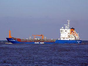 Atlantis Alvarado p2 leaving Port of Rotterdam, Holland 25-Jan-2007.jpg