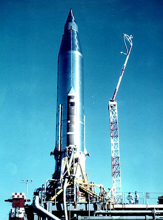 SM-65 Atlas - Atlas-B with Score payload, 1958
