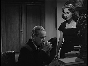 Karl Ludwig Diehl - Diehl and  Lea Padovani in The Accusation (1950)