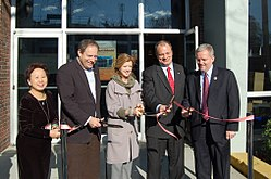 Opening of the Auburndale library branch in 2010