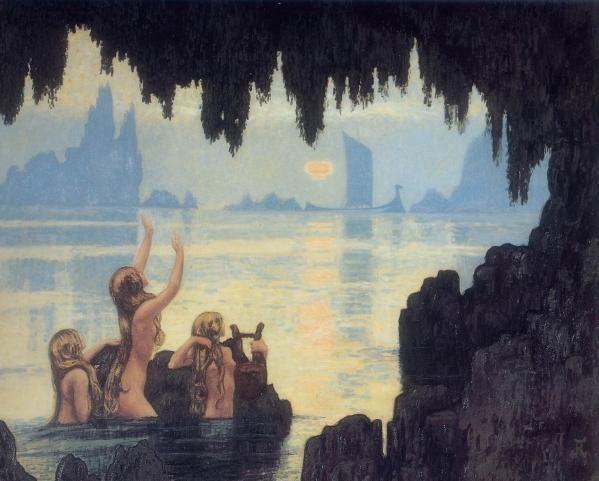 Auburtin - Mermaids