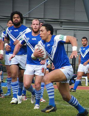 Auckland Vulcans - Auckland Vulcans in action in 2008