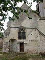 Auger-Saint-Vincent (60), église Saint-Caprais, collatéral nord, vue depuis le nord.JPG