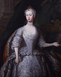 Charles Philips: Augusta of Saxe-Gotha, Princess of Wales
