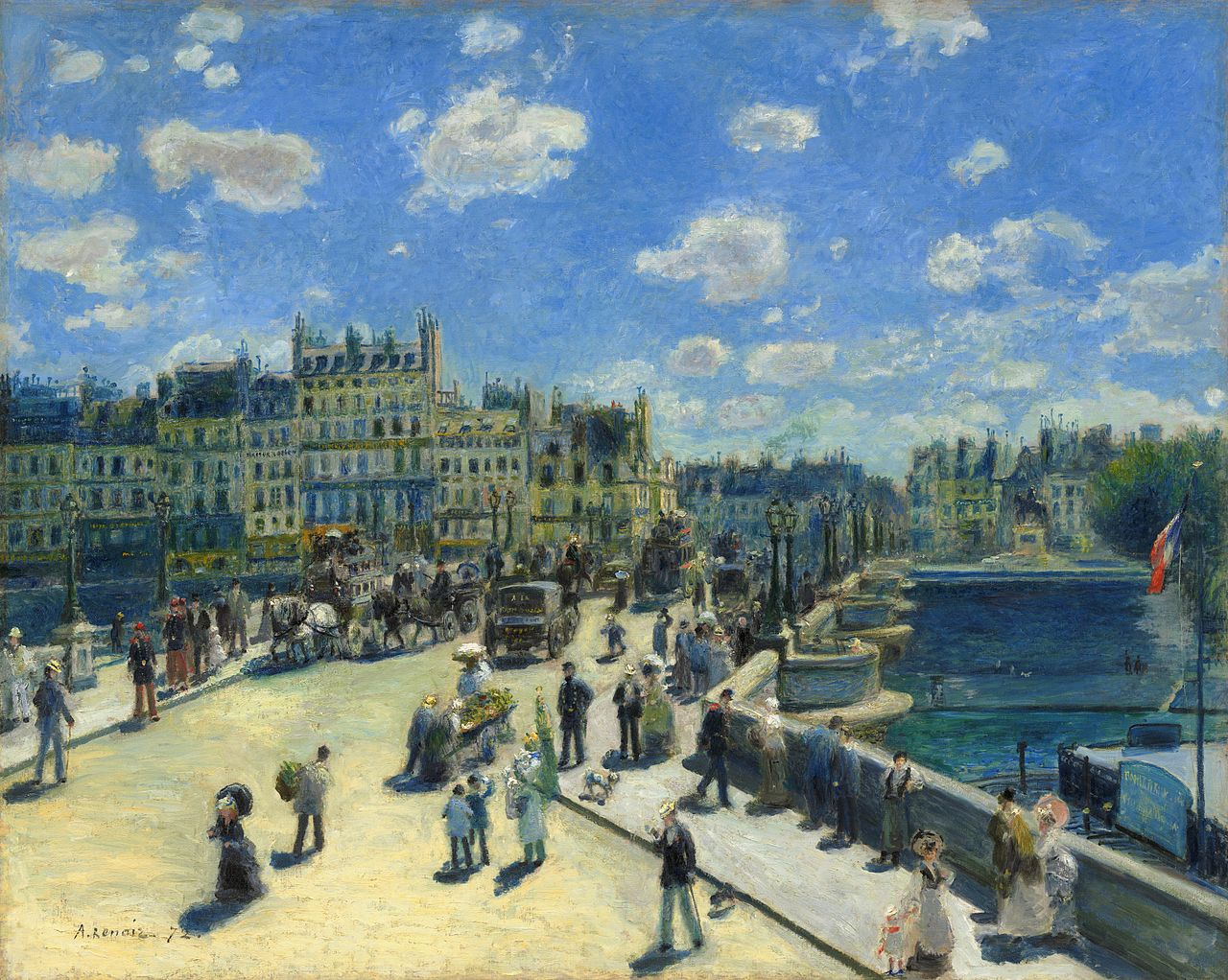Image result for renoir pont neuf