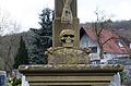 Aura an der Saale, Friedhofskreuz, 003.jpg
