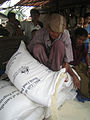 Australia provided emergency food aid to Burma following Cyclone Nargis, May 2008. Photo- Anna-Leena Rasanen, WFP - AusAID (10673301595).jpg
