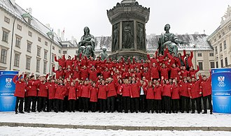 Austria at the 2014 Winter Olympics - The Austrian athletes for the 2014 Winter Olympics