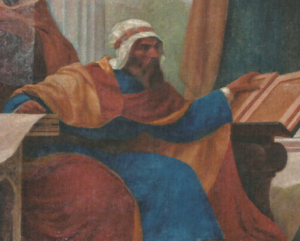 Ibn Zuhr - Avenzoar, 1906, by Veloso Salgado (NOVA Medical School, Lisbon)