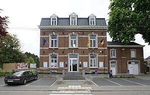 Awans - Image: Awans Gemeentehuis