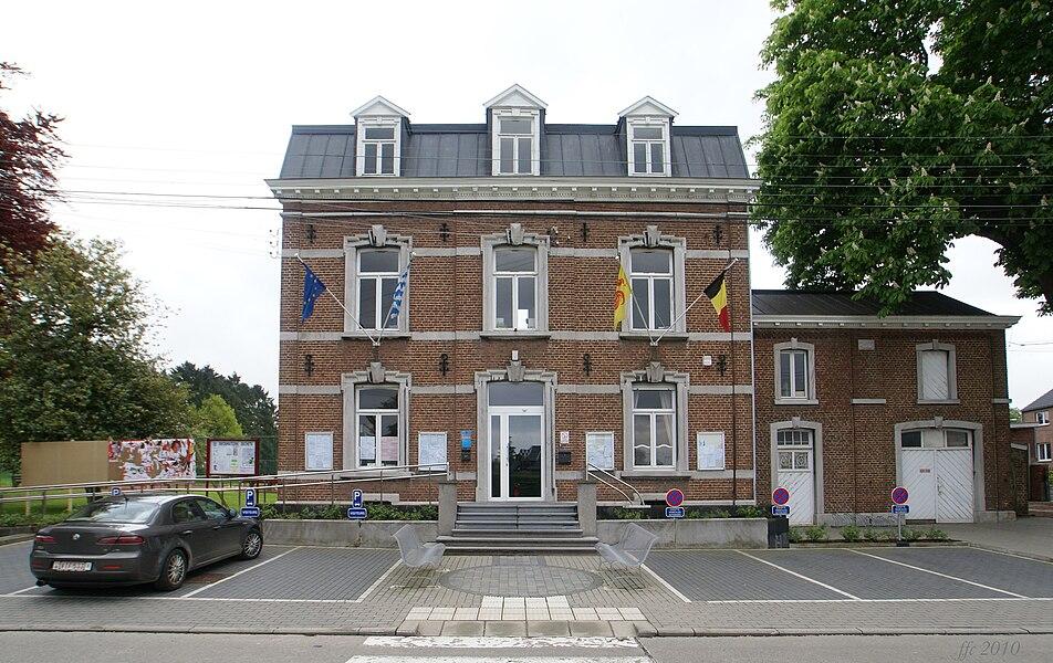 Awans (Belgium): Town Hall