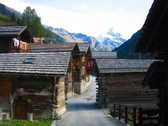Ayer, Switzerland - Image: Ayer AW Wiki Web 4948