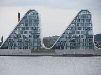 Vejle - The Wave (Bølgen) apartment complex