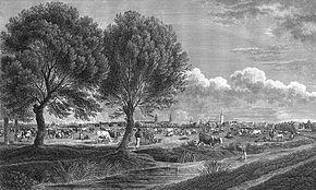 Bürgerweide - Bremen - 1822.jpg