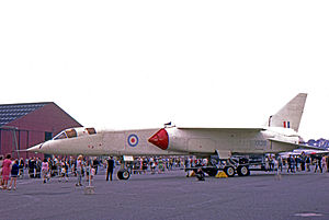 British Aircraft Corporation - The protototype BAC TSR-2 at the Warton factory in 1966