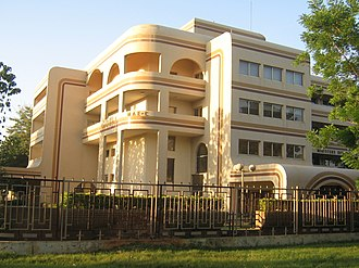 Niamey - Ministry of External Affairs of Niger building.