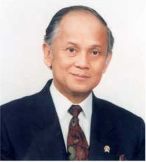 Ministry of Research, Technology and Higher Education (Indonesia) - Image: BPPT BJ Habibie