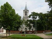 BZN Baisogala church front.JPG