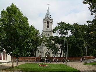 Baisogala - Image: BZN Baisogala church front