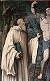 Bachiacca, ss. benedetto, sebastiano e domenico, angeli nella lunetta 03.JPG