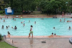 Badplaas main swimming pool