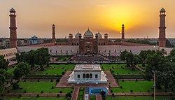 Badshahi Mosque Sunset.jpg