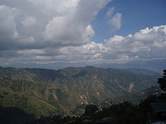 Baguio mountains at Mines View Park.JPG