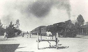 Karibib Railway Station - Karibib Railway Station, c. 1920