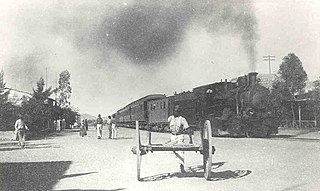 History of rail transport in Namibia