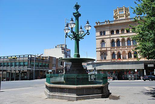Ballarat Burke & Wills Fountain 002
