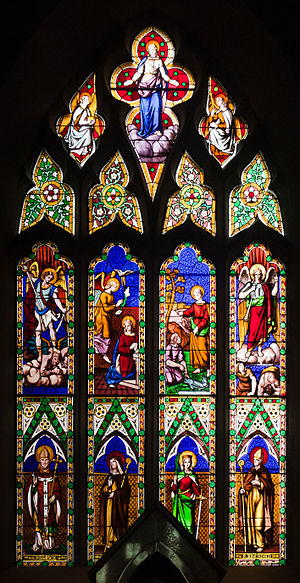 Frederick Settle Barff - Stained Glass Window, St Michael's Church, Ballinasloe