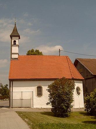 Marktoberdorf - Image: Balteratsried, kapel foto 2 2009 06 05 12.19