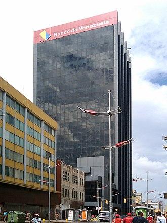 Banco de Venezuela - Banco de Venezuela's headquarters in Caracas.