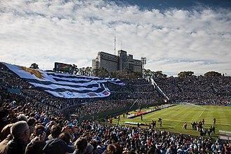 Flag of Uruguay - Image: Bandera Gigante Uruguay