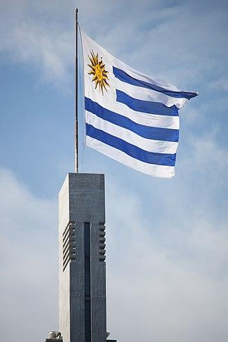Flag of Uruguay - Image: Bandera Uruguay